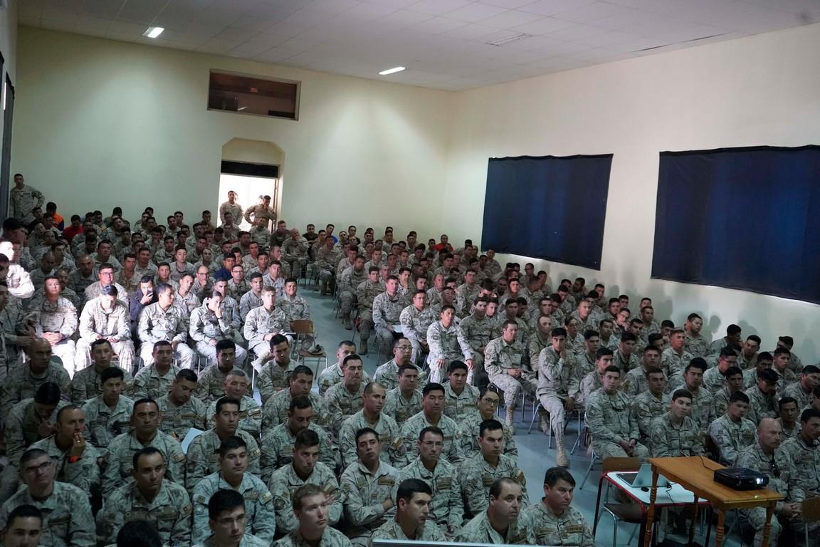 CFT realiza charla de difusión en Regimiento de Calama