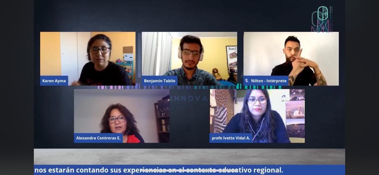 Docente de CFT Participa en conversatorio sobre educación