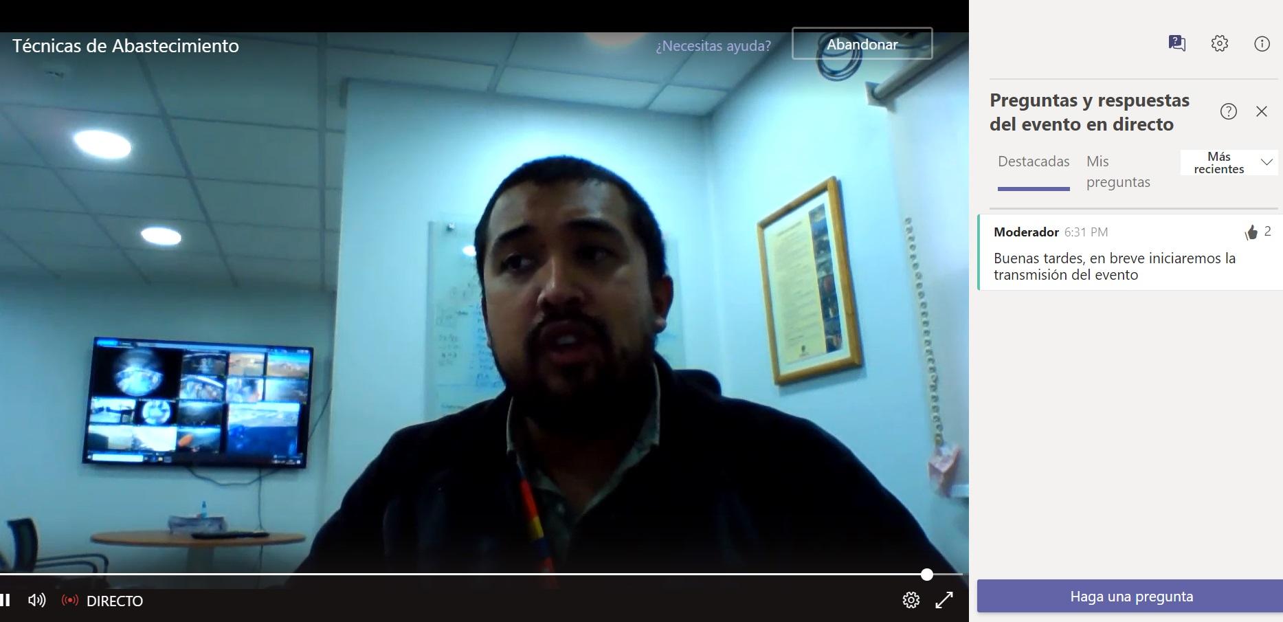 CFT y Codelco realizan charla de abastecimiento a estudiantes de logística