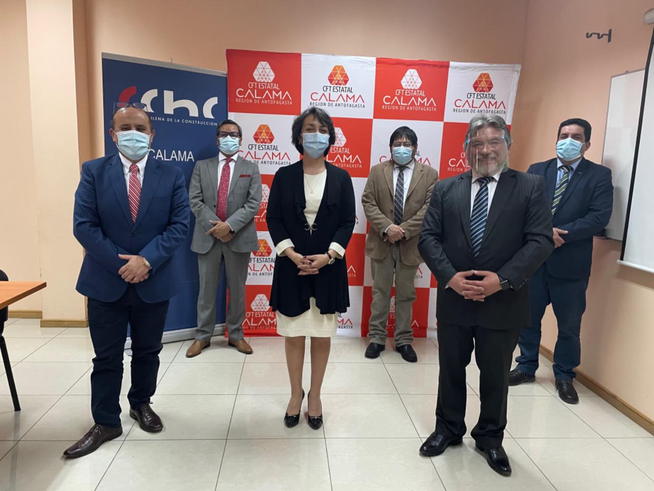 CFT y CChC Calama firman convenio de colaboración