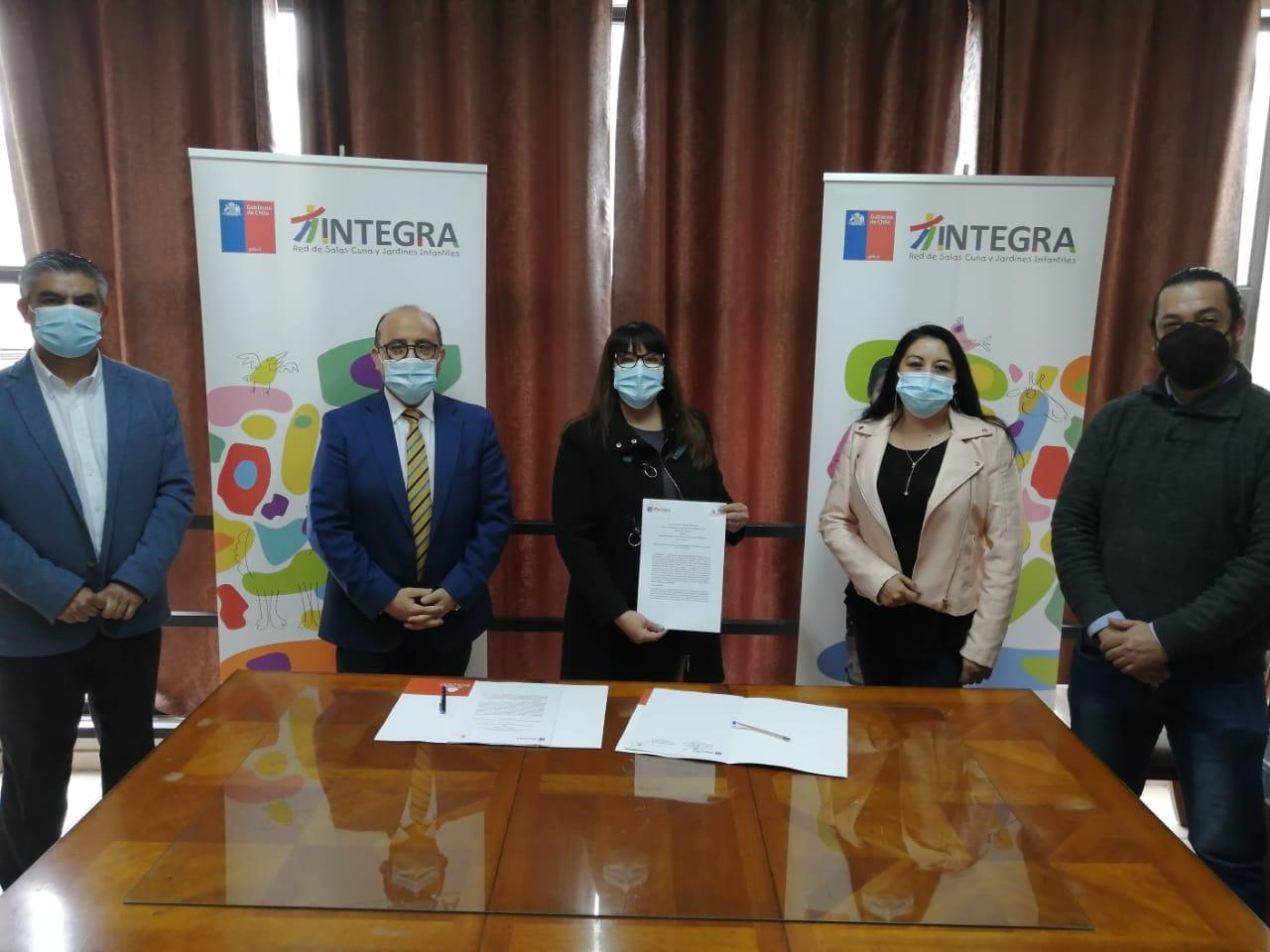 CFT región de Antofagasta e INTEGRA firman convenio de colaboración